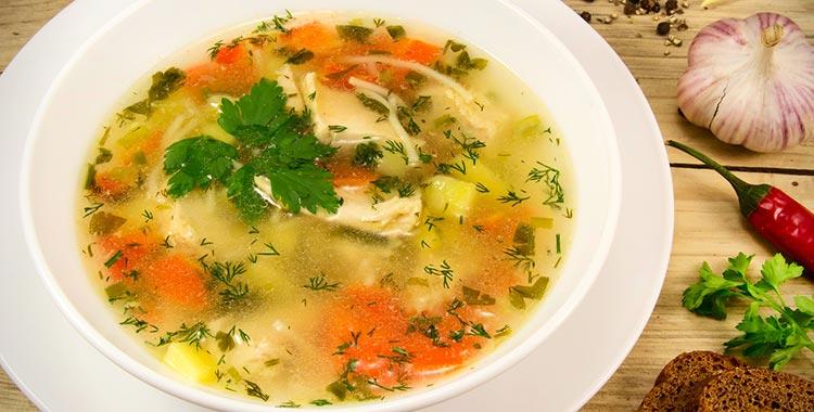 domaca pileca supa
