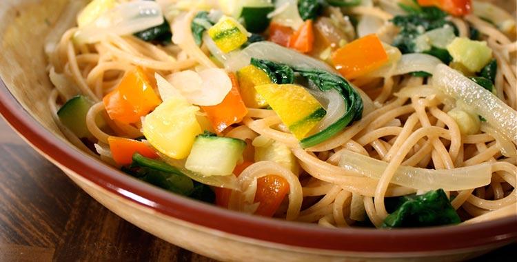 prženi spageti